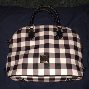 Dooney & Bourke zipzip Satchel- Tucker pattern